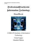 Lecture Note Professional pratices in information technology - Lecture No. 9: EthicalandSocialIssuesinInformationSystems(continued)