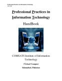 Lecture Note Professional practices in information technology - Lecture No. 28: Intellectual property(Cont'd)