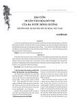 Bảo tồn di sản văn hóa đô thị của ba nước Đông Dương