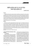 Trống Đông Sơn và các di tích thờ thần Đồng Cổ