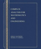 Ebook Complex analysis for mathematics and engineering (2/E): Part 1