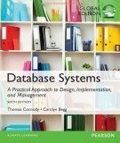 Ebook Database systems - A practical approach to design, implementation, and management (6/E): Part 2