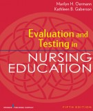evaluation and testing in nursing education (5/e): part 1