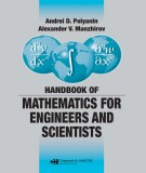 Ebook Handbook of mathematics for engineers and scientists: Part 1