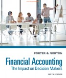 financial accounting - the impact on decision makers (9/e): part 1