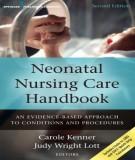 Ebook Neonatal nursing care handbook (2/E): Part 1