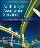 auditing and assurance services (13/e): part 1