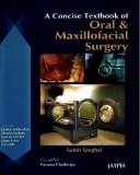 a concise textbook of oral and maxillofacial surgery: part 1