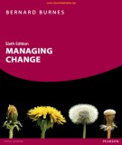 Ebook Managing change (6/E): Part 1