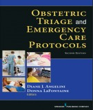 Ebook Obstetric triage and emergency care protocols (2nd edition): Part 2