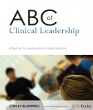 abc of clinical leadership: part 2