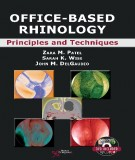 office-based rhinology: principles and techniques (part 1)