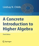 a concrete introduction to higher algebra (3/e): part 1