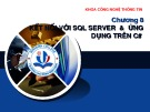 Bài giảng Hệ quản trị cơ sở dữ liệu MSSQL 2005: Chương 8 - Hồ Thị Anh Đào