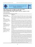 Thực trạng và sự cần thiết của việc phát triển chương trình đào tạo theo hướng CDIO cho ngành kỹ thuật điện - điện tử trường Đại học Tây Đô