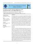 Tác dụng của xung ánh sáng trên Bacillus subtilis dạng huyền phù và gây nhiễm trên gia vị