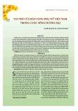 Vai trò của bảo tàng phụ nữ Việt Nam trong cuộc sống đương đại