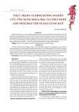 Thực trạng và định hướng nghiên cứu, ứng dụng khoa học và công nghệ góp phần bảo tồn di sản cố đô Huế