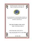 Tóm tắt Khóa luận tốt nghiệp khoa Văn hóa dân tộc thiểu số: Quan hệ hôn nhân của người Hmông ở Mường Lạn (Sốp Cộp, Sơn La) với người Hmông ở Mường Xừm (Mường Ét, CHDCND Lào)