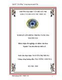 Tóm tắt Khóa luận tốt nghiệp khoa Văn hóa dân tộc thiểu số: Nghi lễ Lên đồng trong tang ma người Tày