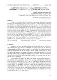 Nghiên cứu ảnh hưởng của Na2SO3 đến sinh trưởng phát triển và năng suất lúa vụ hè thu tại Quảng Nam