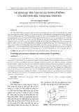 Dự đoán sự tiêu tán áp lực nước lỗ rỗng của bài toán bấc thấm (bài toán 1d)