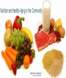 Ebook Nutrition and healthy aging in the community: Part 2
