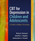 cbt for depression in children and adolescents: part 1
