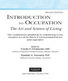 introduction to occupation the art and science of living (2/e): part 1