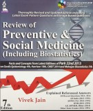 review of preventive and social medicine (7/e): part 1