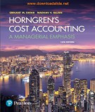 Ebbok Horngren's cost accounting - A managerial emphasis (16/E): Part 1