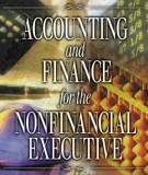 accounting and finance for the nonfinancial executive: part 1