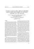 Cơ sở lý luận và thực tiễn của mô hình kinh tế sinh thái: Nghiên cứu áp dụng cho khu vực Tây Nguyên