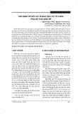 Xác định típ HPV và tế bào học cổ tử cung phụ nữ tuổi sinh đẻ