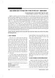 Đặc điểm dịch tễ học sẩy thai ở Phù Cát - Bình Định