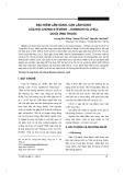Đặc điểm lâm sàng, cận lâm sàng của hội chứng Stevens -  Johnson và Lyell do dị ứng thuốc