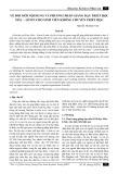 Về đổi mới nội dung và phương pháp giảng dạy Triết học Mác - Lênin cho sinh viên không chuyên Triết học