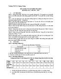 Đề cương ôn tập HK 2 môn Địa lí lớp 8 năm 2017-2018 - THCS Lê Quang Cường