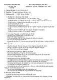 Đề cương ôn tập HK 2 môn Toán lớp 10 năm 2017-2018 - THPT Hoàng Hoa Thám