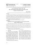 Xác lập hệ thống chỉ báo, tiêu chí, tiêu chuẩn đánh giá tiềm năng du lịch nông thôn (áp dụng cho nông thôn Việt Nam)