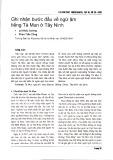 Ghi nhận bước đầu về ngữ âm tiếng Tà Mun ở Tây Ninh