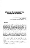Thử đánh giá việc biên soạn giáo trình tiếng Việt như một ngoại ngữ