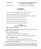 Nghị định số 92/2018/NĐ-CP
