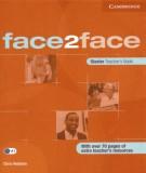 Giáo trình Face2face starter teacher's book: Phần 2