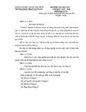 Đề kiểm tra HK 1 môn Địa lí lớp 8 năm 2017-2018 - THCS Trần Văn Đang