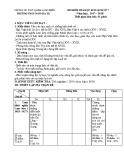 Đề kiểm tra HK 2 môn Lịch sử lớp 7 năm 2017-2018 - THCS Ngô Gia Tự