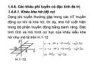 Bài giảng Lý thuyết điều khiển tự động 2: Chương 1 - Đỗ Quang Thông