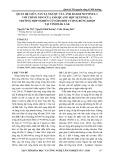 Quan hệ giữa tán xạ ngược của ảnh radar sentinel-1 với chỉ số NDVI của ảnh quang học sentinel-2: trường hợp nghiên cứu cho đối tượng rừng Khộp tại tỉnh Đắk Lắk