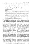 Nghiên cứu các yếu tố ảnh hưởng đến công tác bồi thường, giải phóng mặt bằng trên địa bàn thành phố Hà Tĩnh, tỉnh Hà Tĩnh
