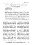 Ảnh hưởng của nồng độ mDMDHEU (modified dimethylol dihydroxy ethylene urea) đến tính chất vật lý của ván dán biến tính sản xuất từ ván bóc gỗ Bạch đàn (Eucalyptus urophylla)
